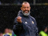Wolverhampton Wanderers manager Nuno Espirito Santo watches on during his side's Premier League clash with Everton on August 11, 2018
