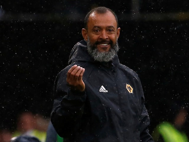 Nuno pleased with