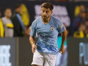 Patrick Roberts in action for Manchester City in pre-season on July 20, 2018