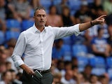 Paul Clement in charge of Reading on August 3, 2018