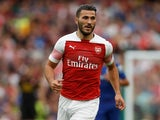 Sead Kolasinac in action for Arsenal in pre-season on August 1, 2018