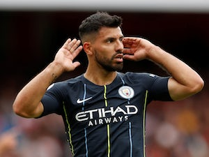 Sergio Aguero looks to keep Etihad streak going against Liverpool