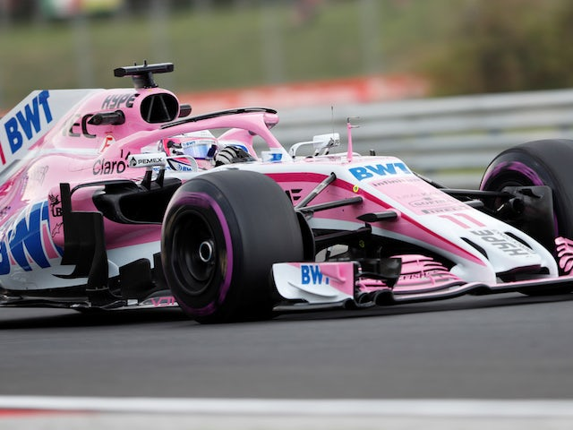 Force India adding blue to 2019 livery