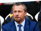 Fulham manager Slavisa Jokanovic watches on during his side's Premier League defeat to Crystal Palace on August 11, 2018