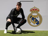 Thibaut Courtois is unveiled as a Real Madrid player on August 9, 2018