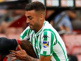 Victor Camarasa in action for Real Betis in pre-season on August 3, 2018