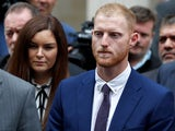 Ben Stokes faces the media after he is acquitted of affray on August 14, 2018