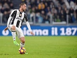 Claudio Marchisio in action for Juventus