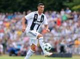 Cristiano Ronaldo in action for Juventus on August 12, 2018