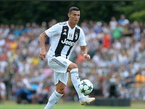 Team News: Ronaldo to make competitive Juve debut