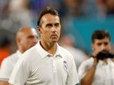 Real Madrid manager Julen Lopetegui