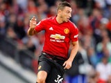 Matteo Darmian in action for Manchester United on August 10, 2018