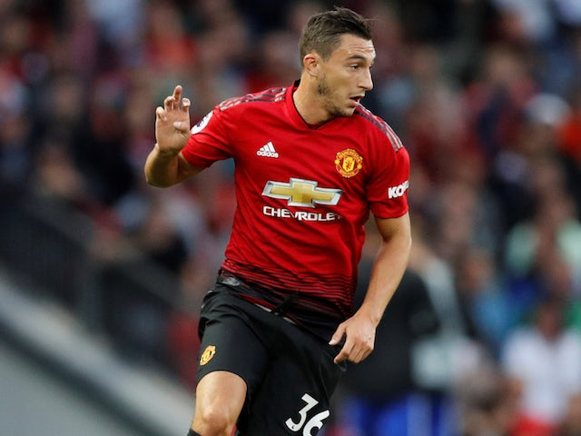 I miss Italy, admits Manchester United full-back Matteo Darmian