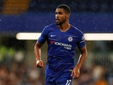 Chelsea midfielder Ruben Loftus-Cheek in action during a pre-season friendly with Lyon in August 2018