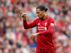 Liverpool given Van Dijk injury scare