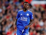 Leicester City midfielder Wilfred Ndidi in action during his side's Premier League opener against Manchester United.