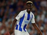 Yves Bissouma in action for Brighton & Hove Albion on August 6, 2018