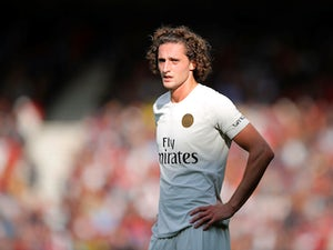 Adrien Rabiot in action for PSG on August 18, 2018