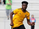 Cameron John in action for Wolverhampton Wanderers in pre-season on July 10, 2018
