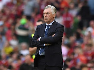 Carlo Ancelotti in charge of Napoli on August 4, 2018