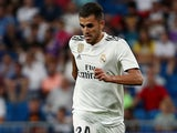 Dani Ceballos in action for Real Madrid on August 19, 2018
