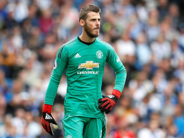 info for 0cfbb 1be55 Manchester United goalkeeper David de Gea 'fed up' with Jose ...