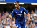 Eden Hazard in action for Chelsea on August 20, 2018