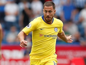 Eden Hazard in action for Chelsea on August 11, 2018