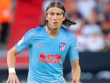 Filipe Luis in action for Atletico Madrid on August 20, 2018