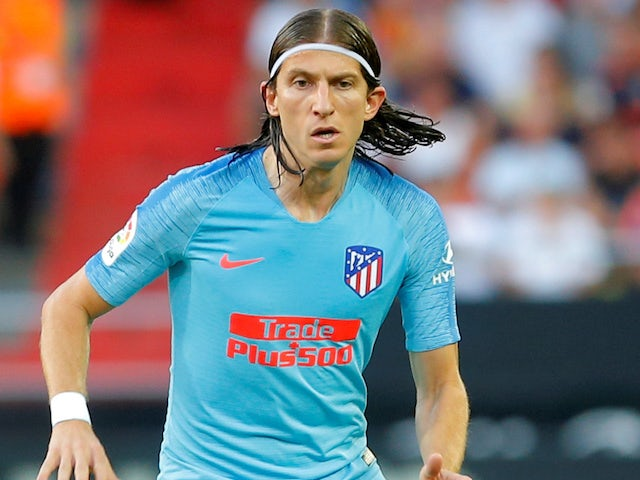 Filipe Luis reveals Man City interest