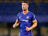Gary Cahill in action for Chelsea in pre-season on August 7, 2018