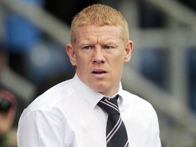 Gary Holt admits Livingston must raise their game against Rangers