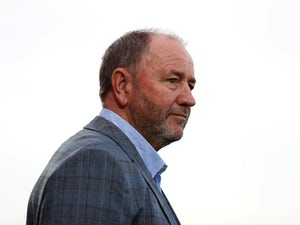 Gary Johnson in charge of Cheltenham Town in August 2017