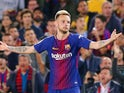 Ivan Rakitic in action for Barcelona on May 6, 2018