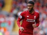 Joe Gomez in action for Liverpool on August 13, 2018