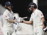 Jos Buttler and Ben Stokes on day four of the third Test between England and India on August 21, 2018