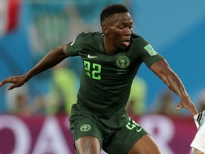 Kenneth Omeruo in action for Nigeria at the World Cup on June 26, 2018