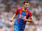Luka Milivojevic in action for Crystal Palace on August 11, 2018