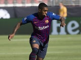 Malcom in action for Barcelona on August 5, 2018