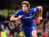 Marcos Alonso in action for Chelsea on August 18, 2018