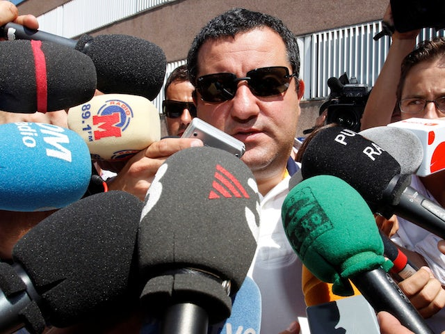 Mino Raiola hints at Pogba move to Madrid