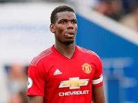 Manchester United midfielder Paul Pogba in action during his side's Premier League clash with Brighton & Hove Albion on August 19, 2018