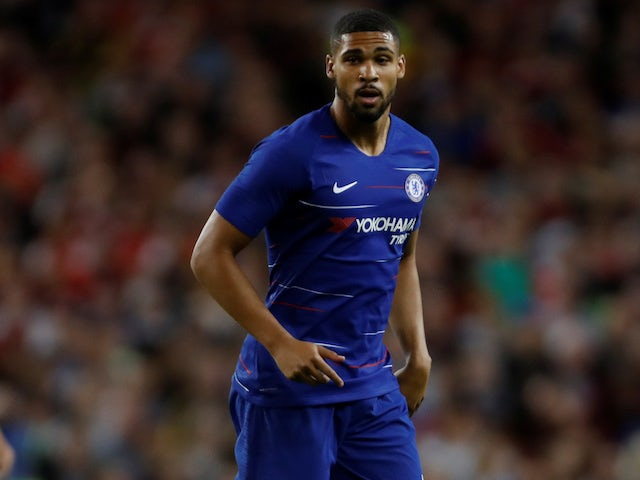 Ruben Loftus-Cheek in action for Chelsea in pre-season on August 3, 2018