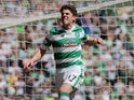 Ryan Christie in action for Celtic in May 2016