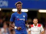 Tammy Abraham in action for Chelsea on August 7, 2018