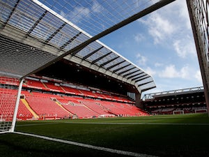 Liverpool to be allowed to lift title at Anfield?