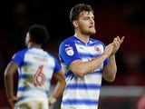 Derby County striker Chris Martin during his time on loan at Reading
