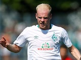 Davy Klaassen in action for Werder Bremen on August 18, 2018