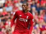 Liverpool midfielder Georginio Wijnaldum in action during his side's Premier League clash with West Ham United on August 13, 2018