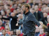 Liverpool manager Jurgen Klopp watches on during his side's Premier League clash with Brighton on August 25, 2018